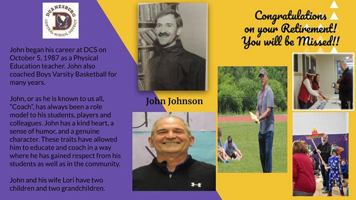 Coach John Johnson