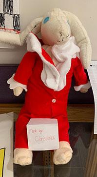 Edward Tulane rabbit doll